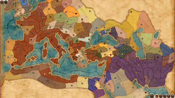 total war rome 2 map