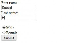 forms in html