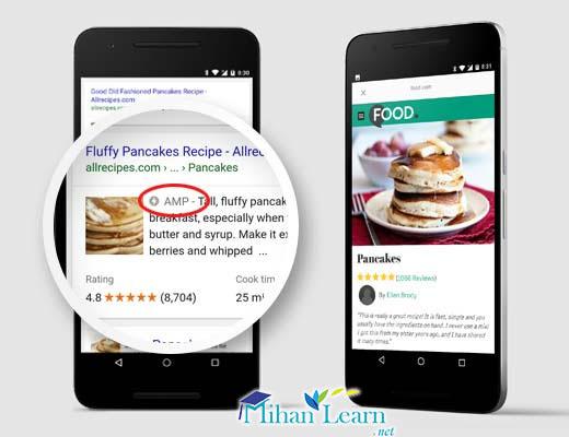 افزایش سرعت سایت با AMP گوگل