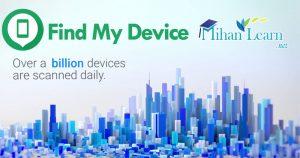 google find my device ردیابی گوشی موبایل