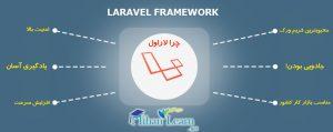 چرا باید لاراول یاد بگیریم| ویژگی های Laravel