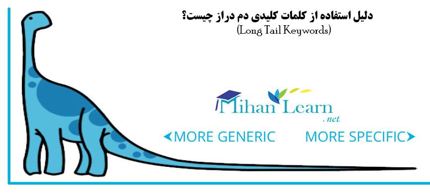 کلمات کلیدی Long Tail