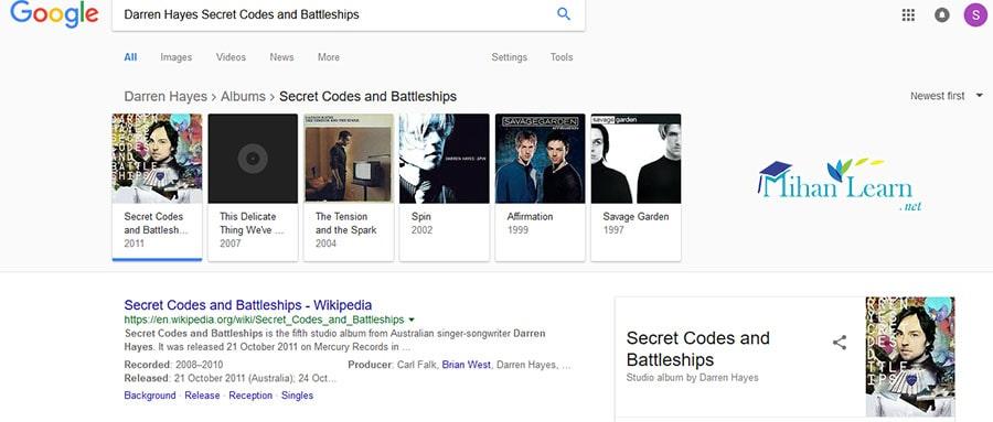 آموزش گراف دانش گوگل