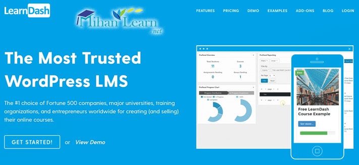 افزونه LearnDash
