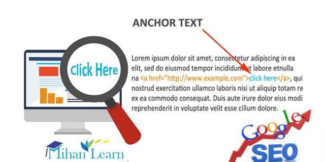 Anchor Text چیست؟