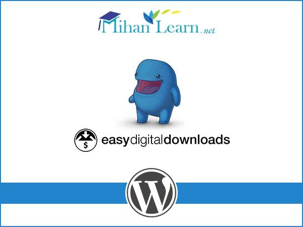 آموزش افزونه Easy digital downloads