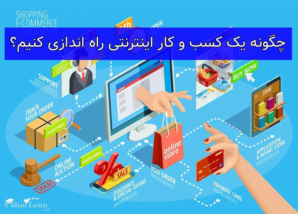 چگونه یک کسب و کار اینترنتی راه اندازی کنیم
